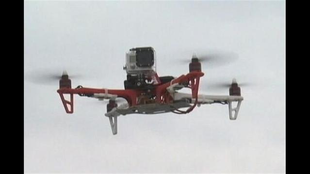 With Drones, Researchers Hope to Save Lives