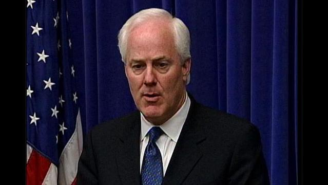 Cornyn Announces Amendment to Bar Taxpayer Bailout for Detroit
