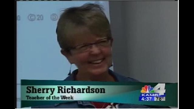 Teacher of the Week: Ms. Richardson