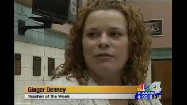 Teacher of the Week: Ms. Denney