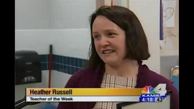 Teacher of the Week: Mrs. Russell