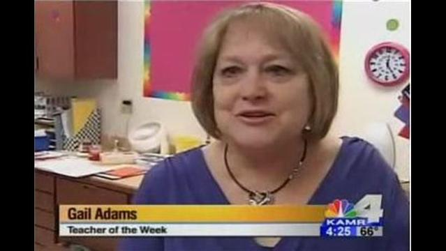 Teacher of the Week: Ms. Adams