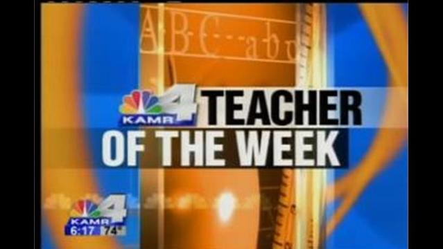 Teacher of the Week: Mrs. Hudson