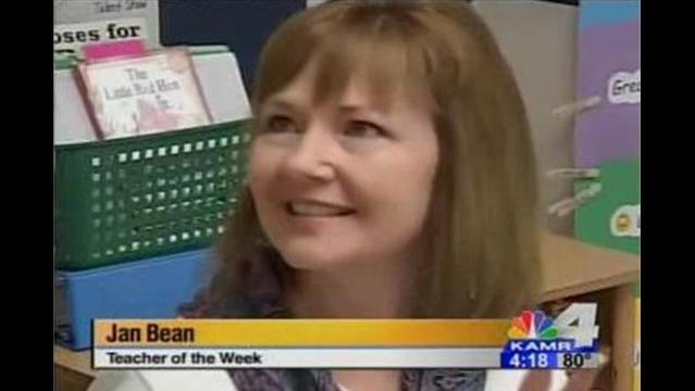 Teacher of the Week: Mrs. Bean
