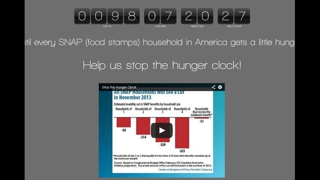 Food Banks Launch 100-Day Countdown Clock to Federal Food Aid Cuts