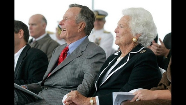George HW Bush 90th Birthday Today!