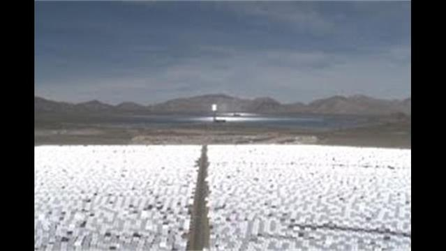 A look inside the world's largest solar plant