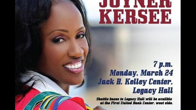 WT Distinguished Lecture Series Tonight: Jackie Joyner-Kersee