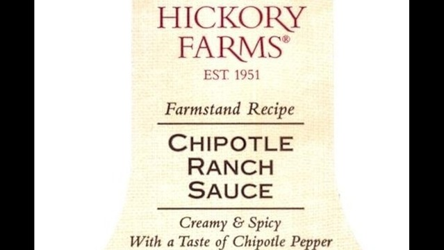 Recall: Hickory Farms Chipotle Ranch Sauce