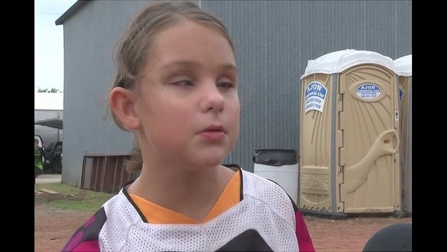 Blind Girl Races BMX With A Little Help From Dad, Bluetooth