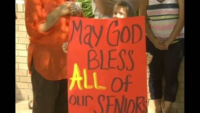 Odessa Parents, Students March in Protest Over Prayer at Graduation