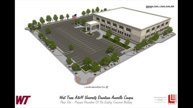 Permanent WT Campus Coming to Downtown Amarillo