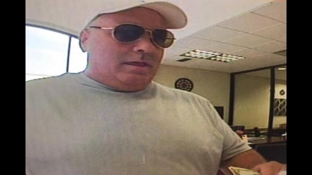 Serial bank robber,