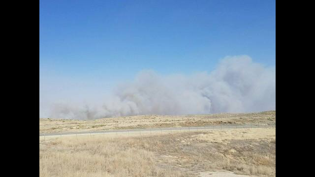 KHP: Driver dies from smoke in Kansas wildfire