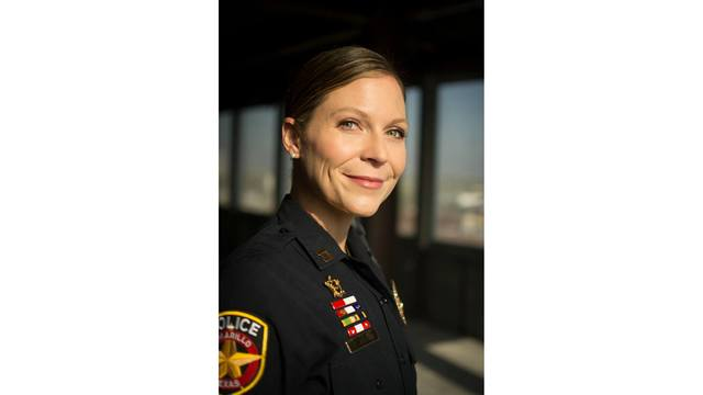 Amarillo Women's Network Honors APD's Captain Elizabeth Brown With Career Achievement Award