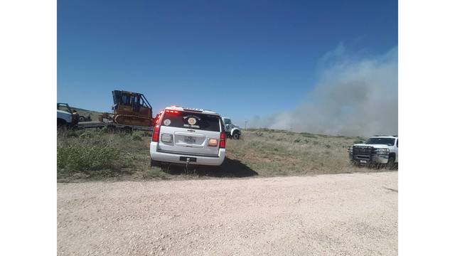 Krister East Fire: Wildfire Reported North of Canadian River Has Burned 1,546 Acres