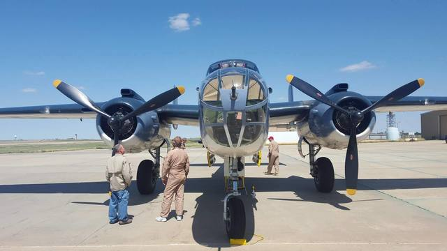 PBJ Mitchell and other WWII aircraft visiting Amarillo April 21-23 as a tribute to the Doolittle Rai