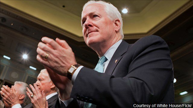 Texas Sen. John Cornyn Drops Out Of Running For FBI Chief