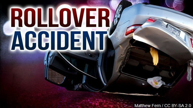 Rollover Near Loop, Driver has Minor Injuries