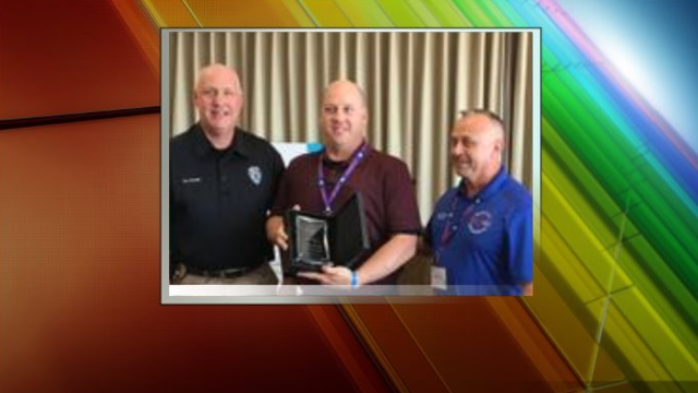 APD Officer Awarded Mental Health Peace Officer of the Year Award