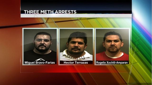 Three Arrested Thursday After 20lbs Meth Buy Bust