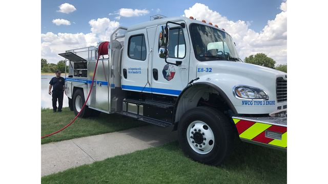 Amarillo Fire Department Shows Off New Truck