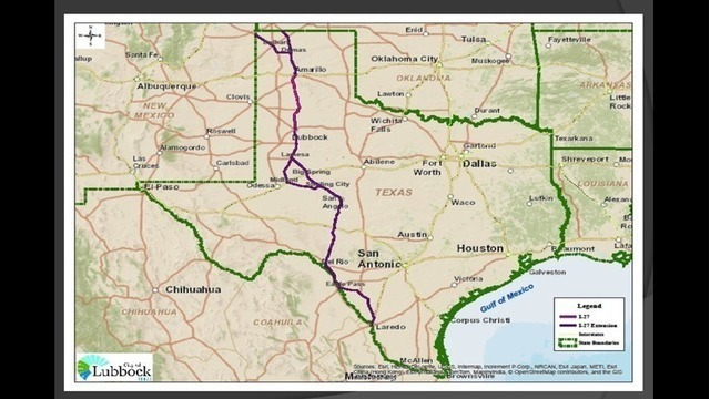 TxDOT Recommends Interstate 27 Extension Feasibility Study