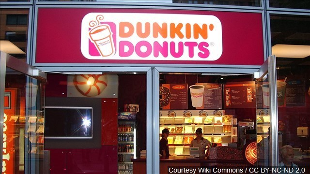 Dunkin' Donuts giving away free coffee