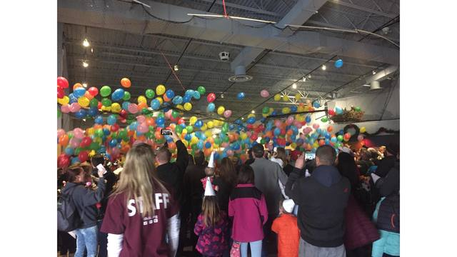 Families ring in 2018 early at 9th annual Noon Year's Eve party