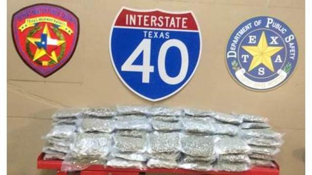 DPS Trooper Seizes $2.33 Million in Marijuana
