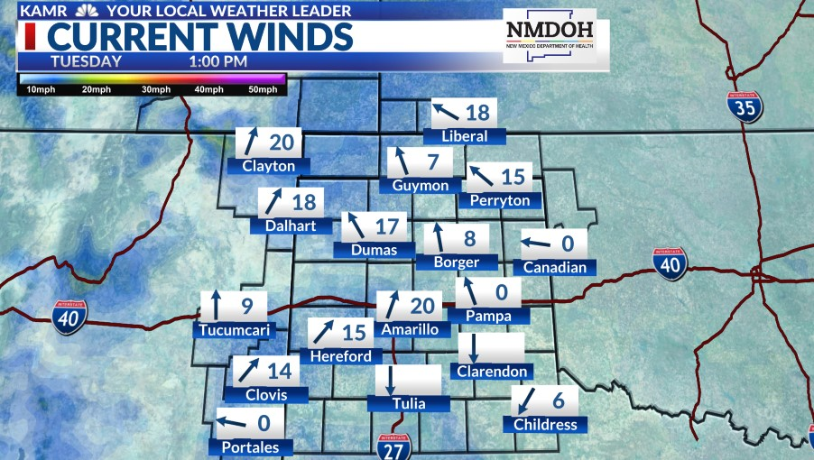 Local Winds Map