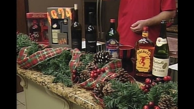 christmas spirits with m r liquor