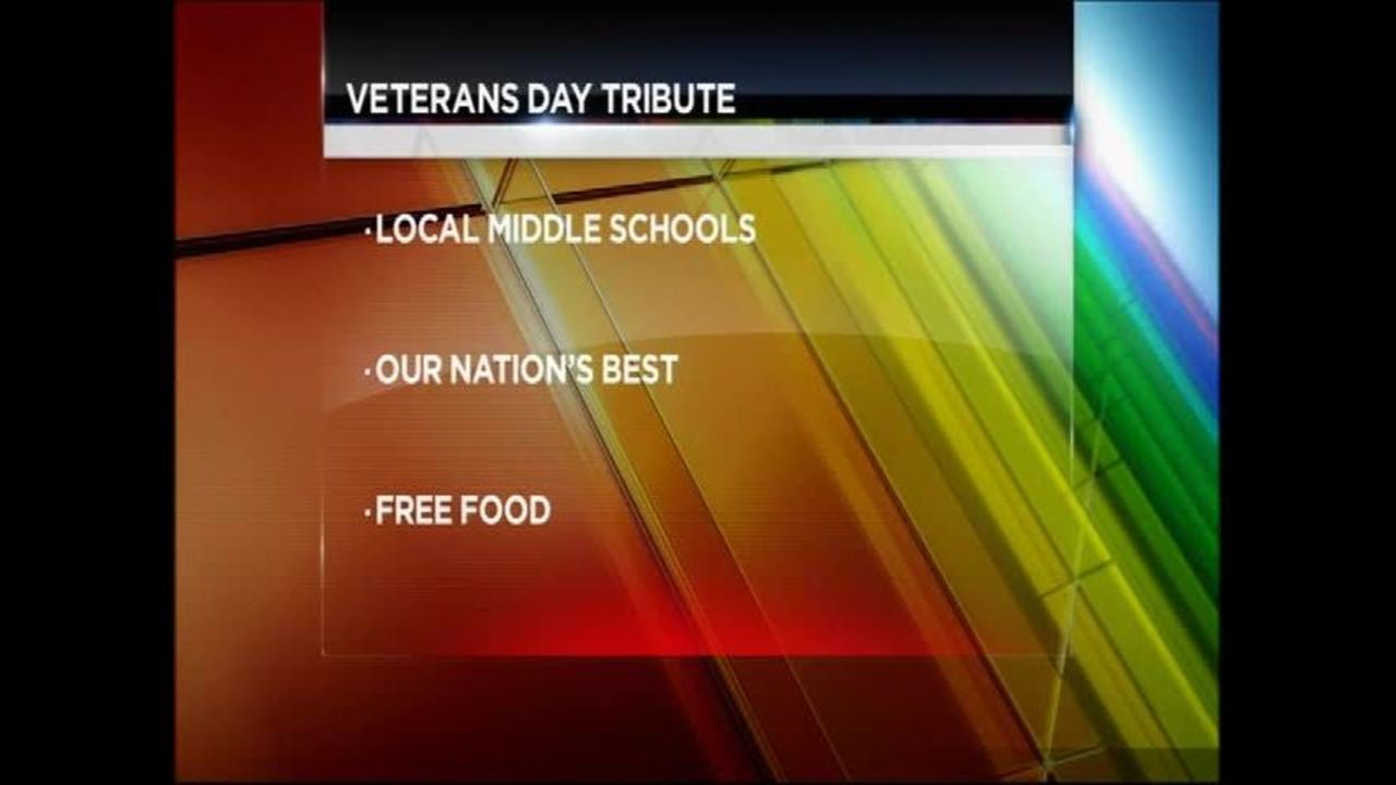 2015 Veterans Day Free Meals and Discounts