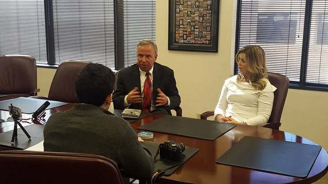 Amarillo EDC Holds Roundtable Discussion with New President Barry Albrecht