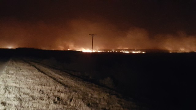 80% Contained: #RankinRanchRoadFire - Wildfire Reported in Roberts County