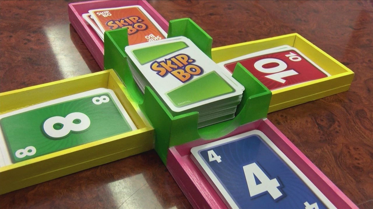 Local Girl Invents A Skip Bo Card Holder