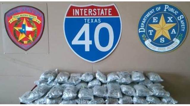 Traffic Stop Leads to Seizure of 55 Pounds of Marijuana
