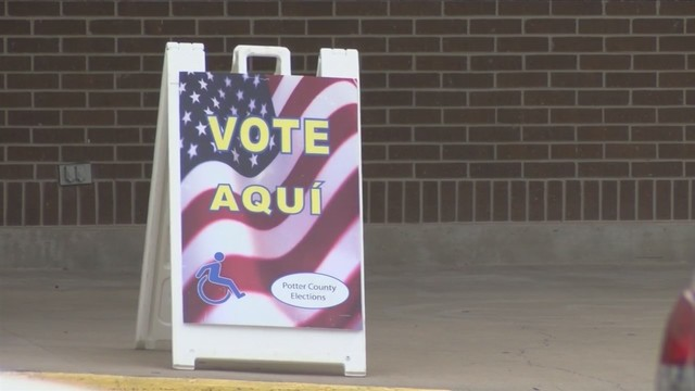 On first day of early voting in Texas primaries, turnout looks up — especially among Democrats
