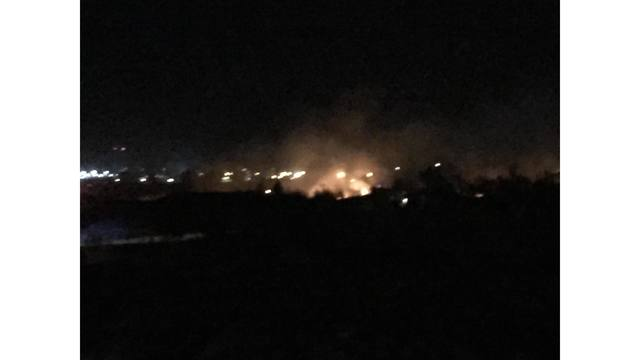 #AirportFire in Hutchinson County 60% Contained; Estimated 1000 Acres