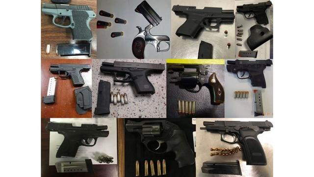TSA Finds Loaded 9mm in Carry-on Bag at Rick Husband Airport