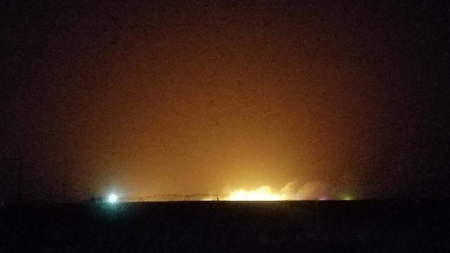 Crews Responding to Fire South of Pampa