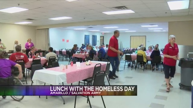 'Lunch With The Homeless Day' event to celebrate National Salvation Army Week