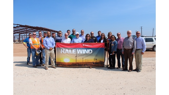 Xcel Energy Hosting Groundbreaking at Hale County wind site Today