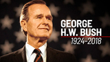 Texans will say goodbye to George H.W. Bush in Houston and College Station today
