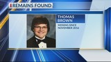 Remains of Missing Canadian Teen Thomas Brown Found