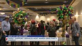 Family Support Services Host 10th Annual Mardi Gras Party